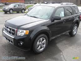 Ford Escape Black - 2011 ford escape limited 4wd in tuxedo black metallic b97386