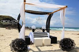 Bamboo Wedding Arch Beach Weddings Hire Decorators Stylist Packages