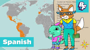 Spanish Map Of South America by Learn Capitals Of Spanish Speaking Countries With Basho U0026 Friends