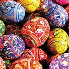 ukrainian easter egg pysanky ukrainian easter egg leaflet missal