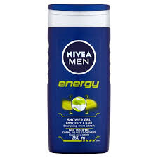 nivea energy 2 in 1 shower 250ml from ocado