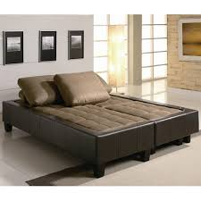 Sofa Beds With Mattress by Brown Fabric Sofa Bed And Ottoman Set Steal A Sofa Furniture