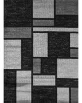 9 X12 Area Rug Deal Alert Osti Abstract Contemporary Modern Blue Polypropylene