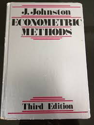 econometric methods j johnston 9780070326798 amazon com books