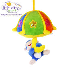 baby crib lights toys itty bitty infant soft plush stuffed musical monkey baby toys