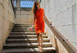 What Colors Go With Burnt Orange What Color Shoes To Wear With An Orange Dress My Fashion Wants