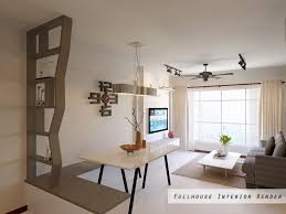 hdb bto 4 room yung kuang road fullhouse interior render