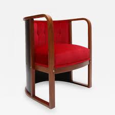 Joe Boxer Chair Josef Hoffman Joseph Hoffman Barrel Chair