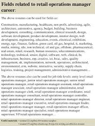 Resume Example Retail by Top 8 Retail Operations Manager Resume Samples