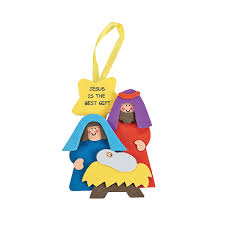 jesus is the best gift u201d christmas ornament craft kit makes 48