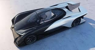 voiture de sport 2016 ces 2016 faraday future dévoile sa voiture de concepts