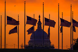 Us Flags At Half Mast Mourning And Solidarity Local Reaction To Orlando Shooting