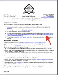 Blanket Certification Letter How To Become A Home Inspector In Delaware Internachi