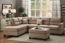 Leather Sofa With Studs by 3 Pcs Sectional Sectional Sofa Bobkona Furniture Showroom