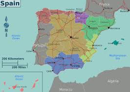 Map Of Southern Spain Moving To Granada Spain Wander The Wild