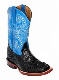 ferrini s boots size 11 crocodile blk s toe boots and hats