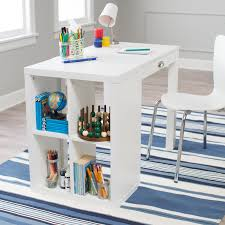 classic playtime mini writing desk with optional bookcase navy
