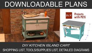 diy kitchen island cart diy kitchen island cart diy projects with pete