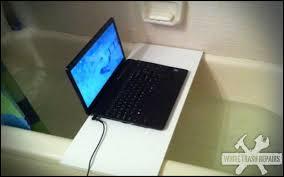 laptop bathtub laptop bath whitetrashrepairs com