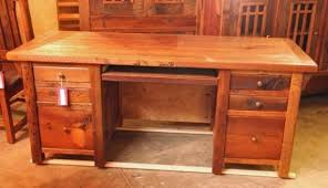 Reclaimed Wood Desk Furniture Reclaimed Wood Furniture And Barnwood Custommade For Awesome