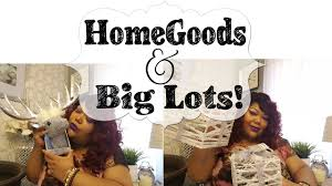 big lots home decor homegoods and big lots home décor and christmas haul youtube