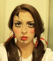 Halloween Costumes Broken Doll 174 Sewn Lips Living Doll Marionette Images