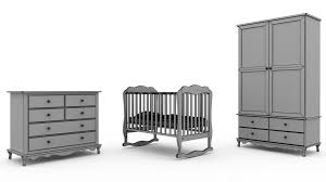 children bedroom furniture set 2 3d cgtrader