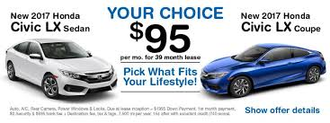 lease a honda civic advantage honda honda dealer in manhasset ny