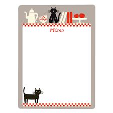 tableau magnetique cuisine derrière la porte tableau mémo magnétique chats tableau