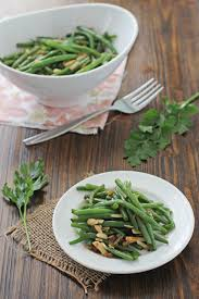 green beans with almonds and shallots cook nourish bliss