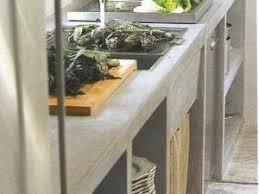plan de travail cuisine beton un plan de travail en béton par regards et maisons