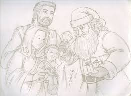 a christmas sketch by thealvintaker on deviantart