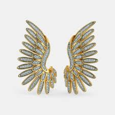 hoops earrings india hoops earrings buy 150 hoops earring designs online in india