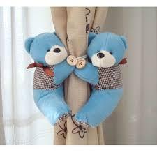 bear theme decor bear curtain tie backs for kids