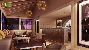 Interier Design Bar Restaurant 3d Interior Design On Architizer
