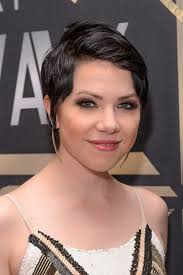 carly rae jepsen hairstyle back celeb short hair styles to make you want to make the chop flare