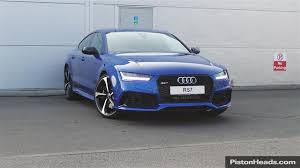 audi rs7 used used 2015 audi rs7 for sale in cheshire pistonheads audi a7