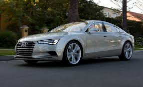 concept audi audi a7 sportback concept prototype drive reviews car and driver