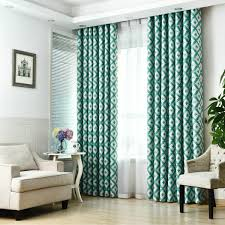 2017 luxury modern style blackout curtain for living room bedroom