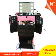 buy mobile makeup station with lights from trusted mobile makeup