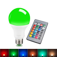 color changing light bulb with remote sdida led rgb bulb e27 equivalent to 15w remote control color