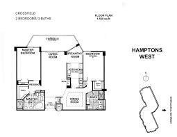 hamptons west aventura floor plans