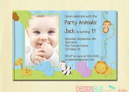 Mickey Mouse Birthday Invitation Cards Baby Boy First Birthday Invitations Marialonghi Com