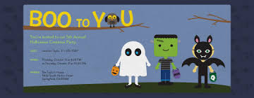 halloween free online invitations