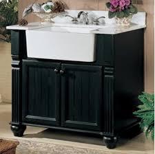 Best 25 Farmhouse Bathroom Sink Ideas On Pinterest Farmhouse Awesome Apron Sink Bathroom Vanity Throughout Bathroom Vanity With