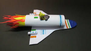 kids crafts how to make a paper rocket at home how to make a