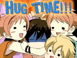 Anime Meme Generator - hug time anime meme generator