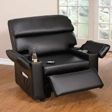 Reclining Leather Armchairs 98 Shocking Black Leather Chair And A Half Photo Ideas Interior