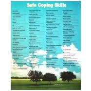 Seeking Poster Wall Poster Of Safe Coping Skills With Scenic Background