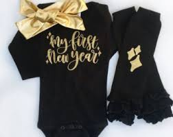 new year baby clothes baby new year etsy